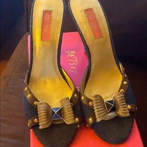 Betsey Johnson Denim Shoe
